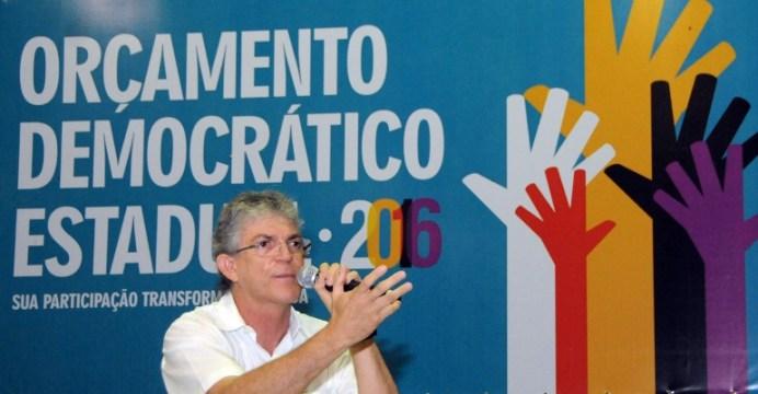 Ricardo ODE 8 - Ricardo abre audiências do OD e diz que experiência da Paraíba é única no país