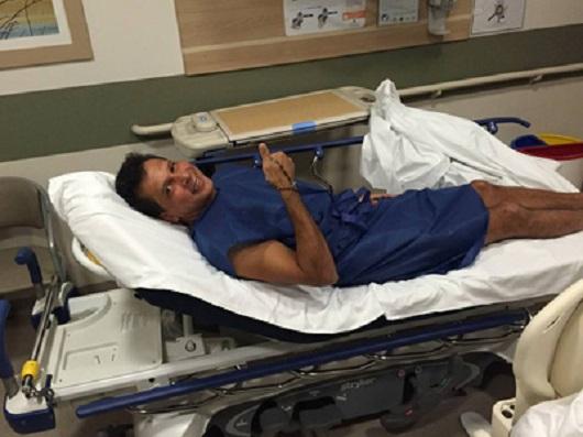 TQQW 11 - Ricardo Barbosa fez exame no Memorial São Francisco mas já recebeu alta
