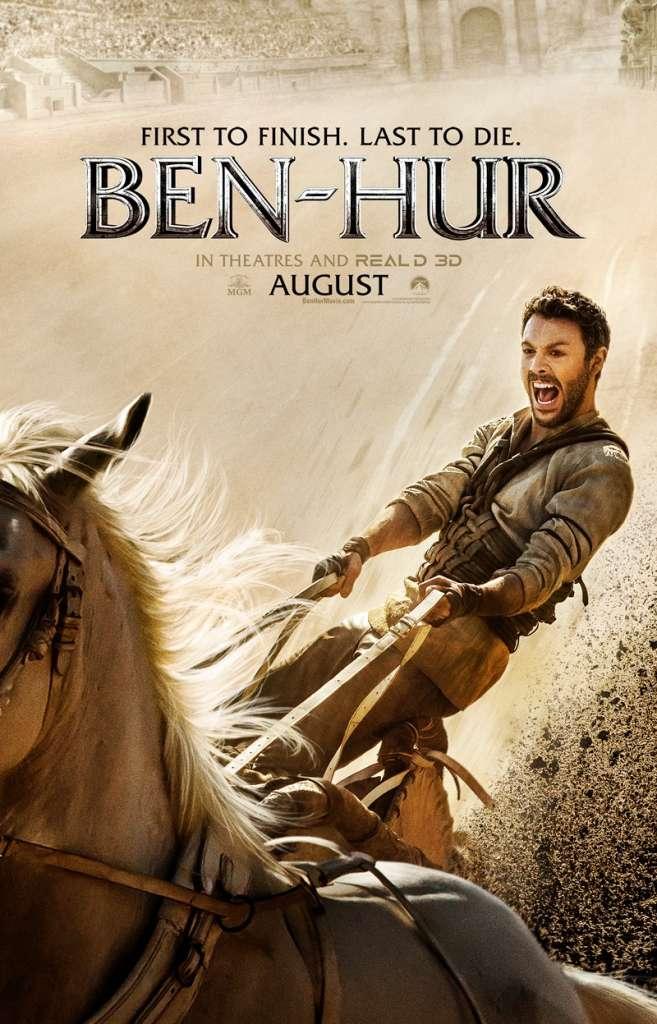 ben hur 2016 poster 657x1024 - Remake de Ben-Hur com Rodrigo Santoro ganha primeiro trailer