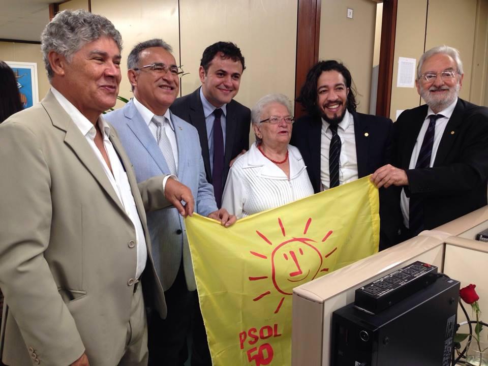 erundina psol - Deputada Luiza Erundina filiou-se ao PSOL neste domingo
