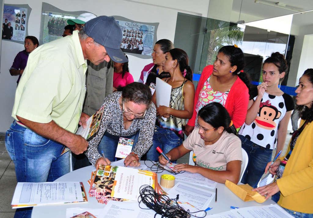 oficina participativa seguranca alimentar em cuite foto alberto machado 3 - Governo do Estado reúne 15 municípios do Curimataú em Cuité para discutir segurança alimentar e nutricional
