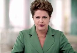 Dilma grava pronunciamento para ser veiculado em cadeia nacional nesta sexta