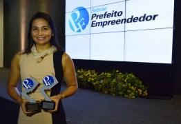Luciano Cartaxo recebe dois Prêmios Prefeito Empreendedor do Sebrae