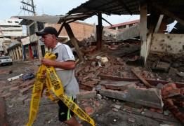 Terremoto no Equador vitima mais de 230 pessoas
