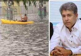 Falta de infraestrutura em Cabedelo faz Leto Viana tomar medida emergencial após chuvas