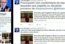 OEA opina sobre impeachment de Dilma e anuncia chegada de secretário-geral ao Brasil