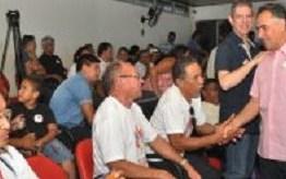 Cartaxo participa de encontro com conselheiros do Orçamento Participativo
