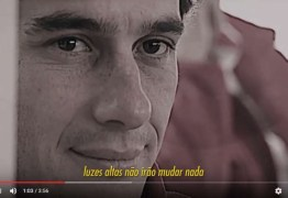Banda Paraibana homenageia Ayrton Senna em novo clipe -VEJA VÍDEO