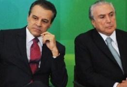 TEMER VAI DEMITIR OUTRO MINISTRO LOGO: Nomeação de Henrique Alves foi para assegurar foro privilegiado