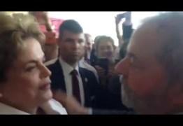DESPEDIDAS: Veja a imagem do abraço silencioso de lula em Dilma – VEJA VÍDEO