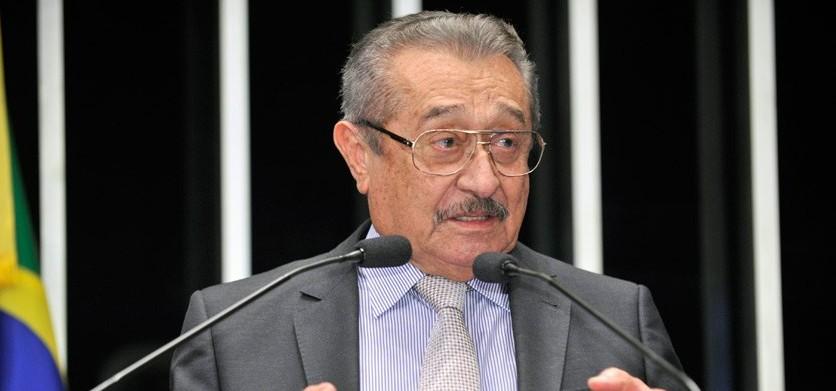josé maranhão no senado e1463000978996 - Temer garante a Maranhão envio de R$ 50 milhões mensais para concluir transposição do São Francisco