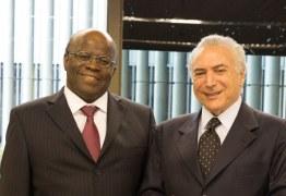 Joaquim Barbosa quer novas eleições pois considera governo de Temer ilegítimo