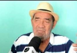 A NOITE DE LUTO: Morreu o cantor seresteiro Timbú aos 72 anos