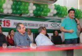 Manuel Junior se consolida: Ao lado de Maranhão e Lira recebeu apoio do PSC