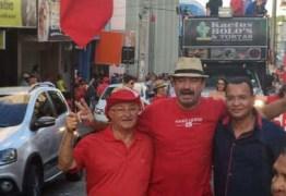 Deputado Jeová Campos na linha de frente dos protestos  contra governo Temer