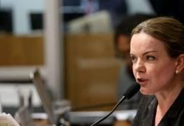 ATO PÚBLICO EM JOÃO PESSOA: Gleisi Hoffman diz que o golpe contra o PT 'fracassou'