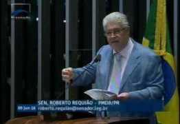 URGENTE: Requião leva ao plenário do Senado proposta de plebiscito para antecipar eleições – VEJA VÍDEO