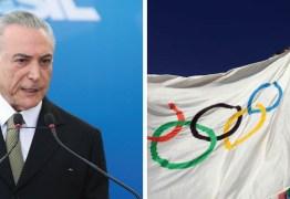 Temendo vaia, Temer terá fala minúscula na abertura da Rio 2016