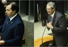 Rodrigo Maia e Rogério Rosso vão disputar o 2º turno da eleição a presidente da Câmara