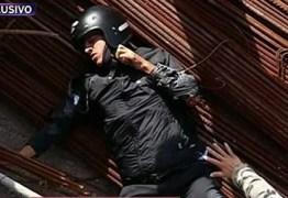 MILAGRE: Escapou o motoqueiro que foi atropelado e caiu de uma ponte de 15 metros – REVEJA VÍDEO DO ACIDENTE