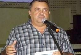 Vice-prefeito de Guarabira Zé do Empenho anuncia desistência de disputar reeleição