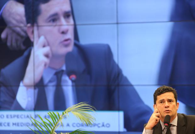 sérgio moro - Comissão discute suavizar propostas anticorrupção