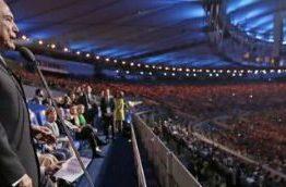 O abandono de Temer na festa do Maracanã – Os governantes mundiais fugiram de Temer