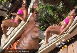 Após sexo com brasileira, Usain Bolt curte férias com a namorada
