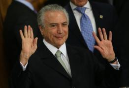 Temer diz não se importar com impopularidade para retomar crescimento do país