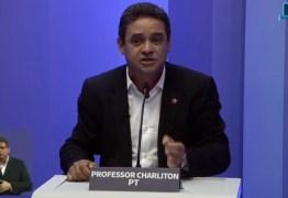 DEBATE CABO BRANCO: Charliton lembra que Cartaxo mantém 400 servidores no gabinete e cobra transparência