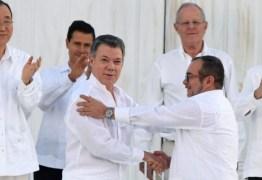 Derrotado nas urnas, presidente da Colômbia vence Nobel da Paz