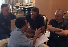 Temer se reune com a cúpula do Centrão e pede ao Dep. Aguinaldo Ribeiro apoio para PEC dos limites de gastos