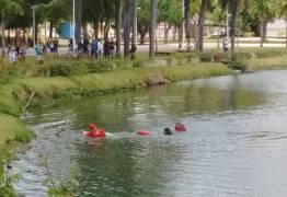 """Resgate de """"louco"""" por bombeiros mostra que Lagoa já está assoreada – Por Suetoni Souto Maior"""