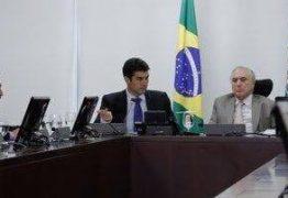 Bancada da Paraíba se encontra com Temer e reivindica obras da Transposição do Rio São Francisco