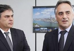 """Luciano Cartaxo dá """"gelo"""" em Cássio após desistir de disputar o governo"""