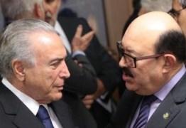 REUNIÃO COM TEMER: Senador Deca destacou o pedido para o ramal do rio Piancó