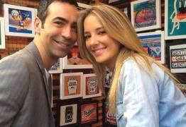 Tici Pinheiro e Cesar Tralli se casam em segredo