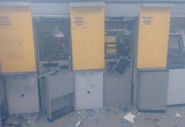 CAMPINA GRANDE: bandidos explodem caixas eletrônicos em agência do Banco do Brasil