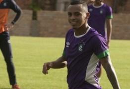 Botafogo-PB anuncia contratação de mais um atacante para temporada