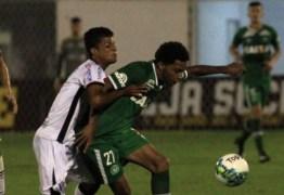 Em 1º jogo oficial, Chapecoense não faz gols e empata com o Joinville