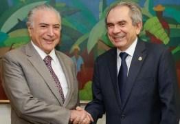 Lira fará parte da comitiva do presidente Temer para inauguração de trecho da transposição na próxima segunda
