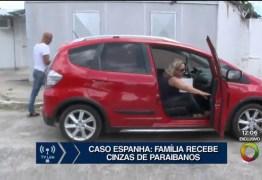 VEJA VÍDEO – Cinzas de família paraibana morta na Espanha chegam à João Pessoa