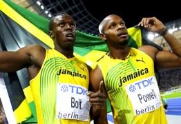 Usain Bolt e Asafa Powell comentam perda de medalha