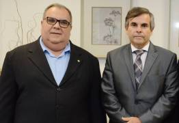 Rômulo Gouveia faz visita de cortesia ao presidente do Tribunal de Justiça da Paraíba
