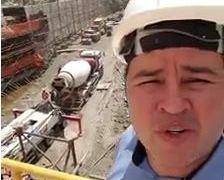 VEJA VÍDEO: Efraim Filho visita obras do eixo leste da tranposição do São Francisco