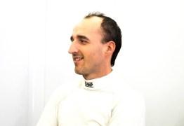 Kubica fala o que sentiu dirigindo carro de fórmula após acidente que quase tirou sua vida