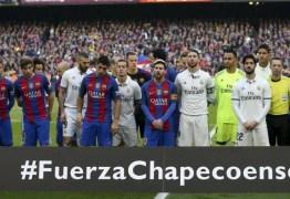 Chapecoense negocia e pode ter o mesmo patrocinador do Barcelona