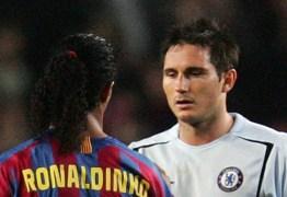 Lampard se derrete a Ronaldinho Gaúcho: 'É de outro planeta'