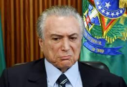 Temer assina ordem de serviço em Campina de uma obra em João Pessoa, prefeito Cartaxo não vai comparecer