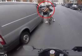 VEJA VÍDEO – Ciclista é assediada e se revolta ao ouvir 'Está menstruada'